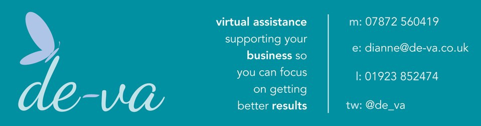 de-va | virtual assistance | m: 07872 560419